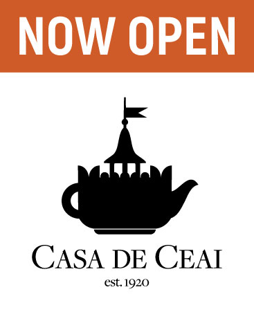 Tea House | Now Open